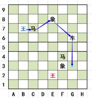 王借用公用棋子的移动