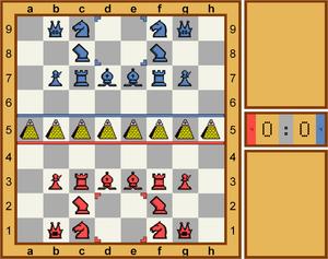 永恒象棋开局图