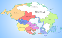 Map of Rodenia