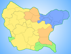 Map of Navonia 2011 Elections local