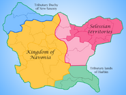 Navonian Kingdom during the Civil War