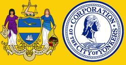 Flag of New Yonkers and Philadelphia