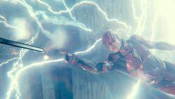 Flash returns Wonder Woman's sword