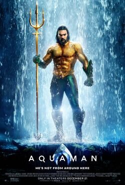 Aquaman - He's not from around here Poster