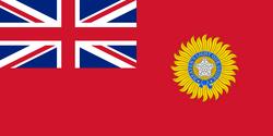 British Raj Red Ensign