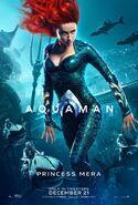 Aquaman Poster - Princess Mera