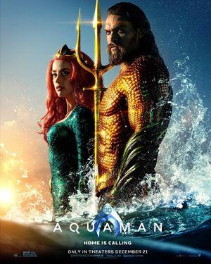 AQUAMAN - Aquaman & Mera Poster