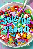 Suicide Sqaud Cereal Poster