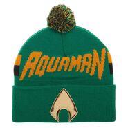 Aquaman Logo Green Beanie POP