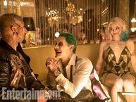 Joker with Harley & Mr T