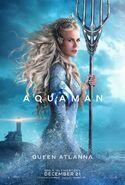 Aquaman Poster - Queen Atlanna