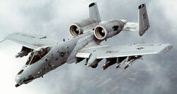 A-10 Thunderbolt II In-flight-2