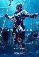 Aquaman Poster - King Orm