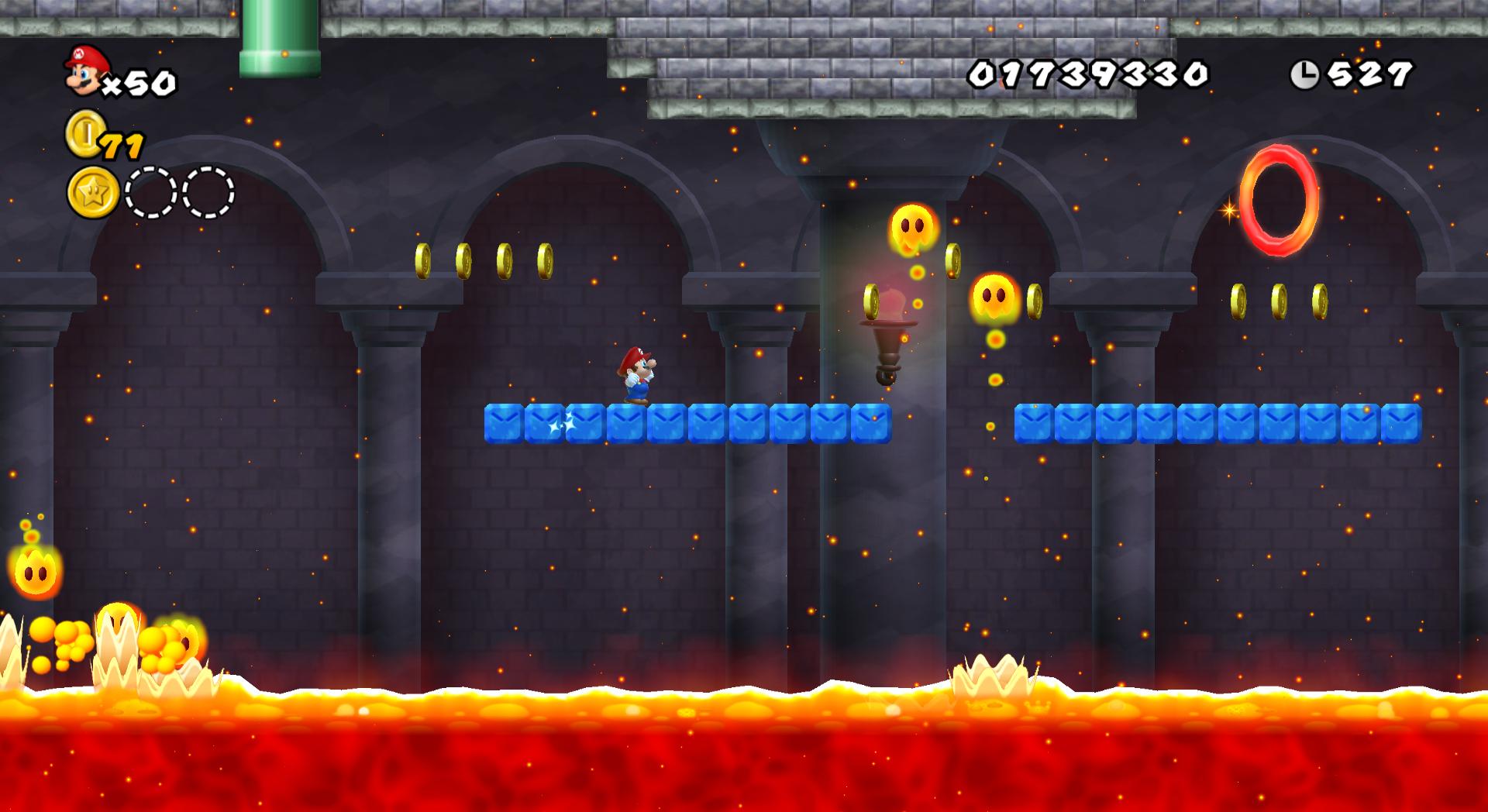 World 3-Castle (Another Super Mario Bros  Wii) | Newer Super