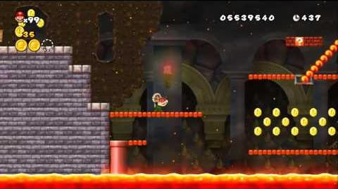 Newer Super Mario Bros Wii World 8-Bowser's Castle