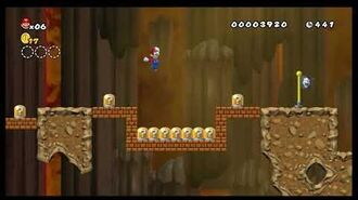 Newer Super Mario Bros. Wii - Unused Level 1