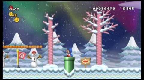 Newer Super Mario Bros. Wii Holiday Special Part 1 - Gameplay