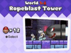 Ropeblasttower