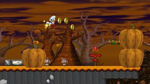 Pumpkin Boneyard (Newer Super Mario Bros. Wii)