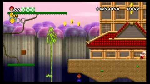 Newer Super Mario Bros. Wii 100% World 4 - Sakura Village