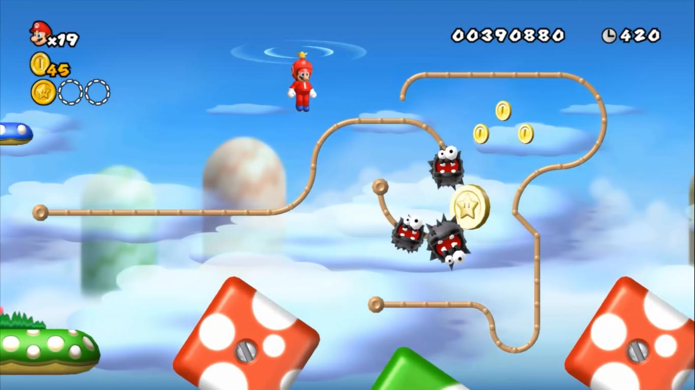 World 1 Another Super Mario Bros Wii Newer Super Mario Bros
