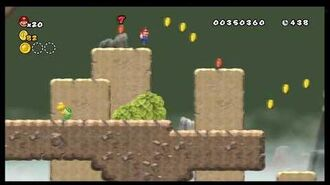 Newer Super Mario Bros. Wii - Unused Level 5