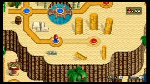 Newer Super Mario Bros. Wii 100% World 2 - Soggy Sewers Rubble Ruins