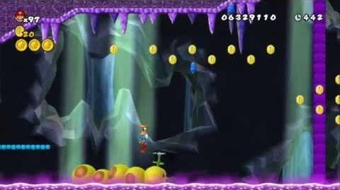 Newer Super Mario Bros Wii World D-2 Toxic Wigglershaft Pt 1 & 2