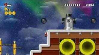 Newer Super Mario Bros Wii World 7-Final Spaceship Koopa