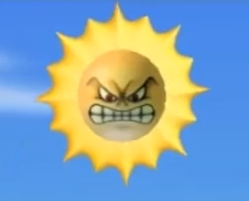 Angry Sun Newer Super Mario Bros Wiki Fandom