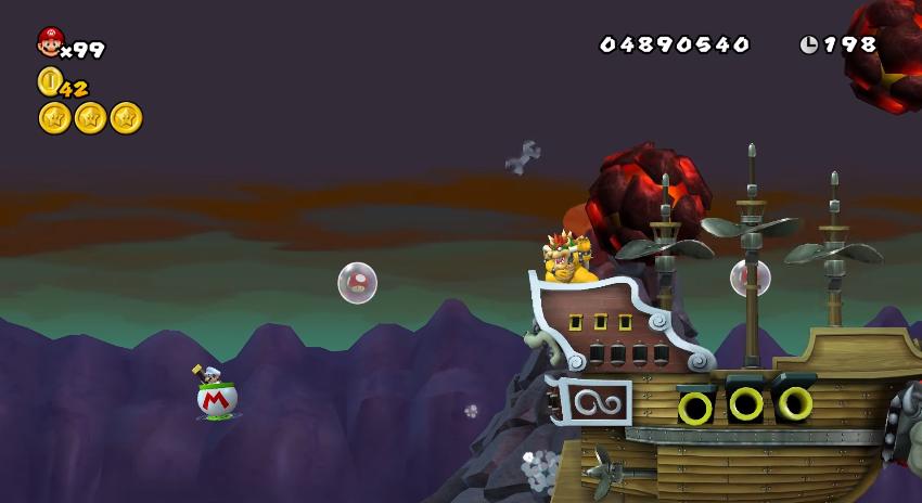 Bowser S Keep Newer Super Mario Bros Wiki Fandom