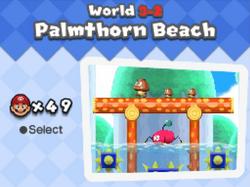 Palmthorn beach