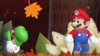Newer Super Mario Bros. Wii Falling Leaf - Complete Walkthrough (100%)