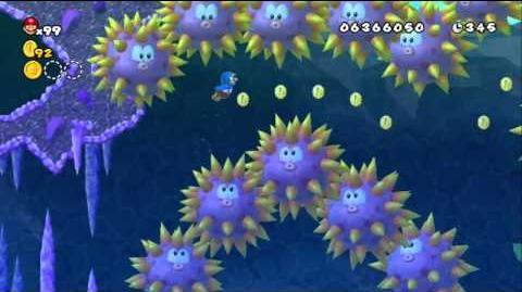Newer Super Mario Bros Wii World D-3 Spine Springs