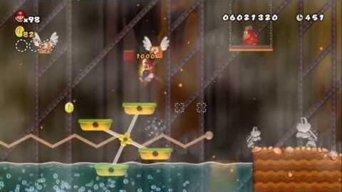 Newer Super Mario Bros Wii World 8-9 Ironworks Forge