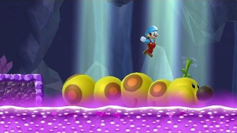 Newer Super Mario Bros. Wii - Crystal Caves (Complete World D)