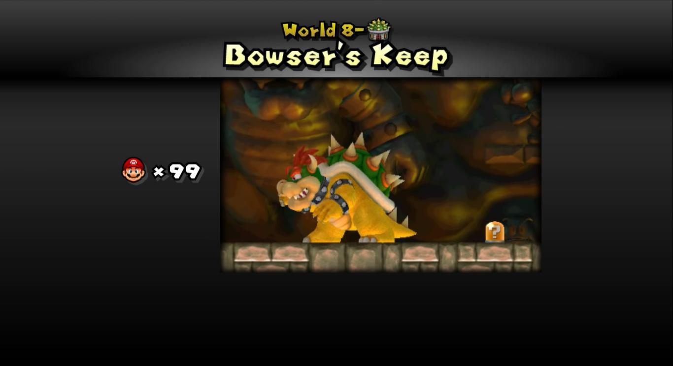 Bowser's Keep | Newer Super Mario Bros  Wiki | FANDOM powered by Wikia