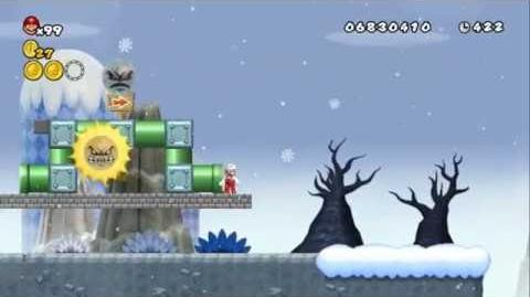 Newer Super Mario Bros Wii World 9-9 Grey Mountains