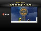 Spaceship Koopa