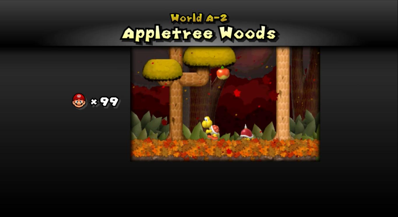 Appletree Woods | Newer Super Mario Bros  Wiki | FANDOM powered by Wikia