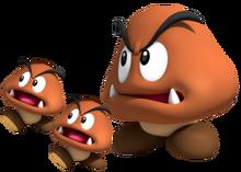 Grand Goomba & Goombas, Super Mario 3D Land