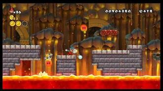 Newer Super Mario Bros. Wii - Bowser's Keep Final Castle (beta)