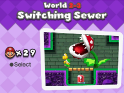 Switchingsewer
