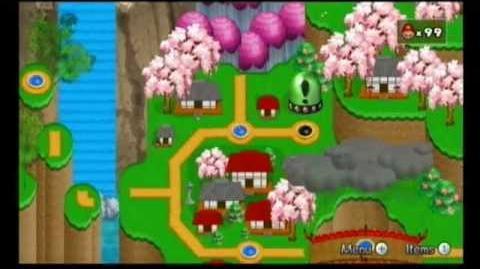 Newer Super Mario Bros Wii World 4-A Hilltop Town Secret Exit-0