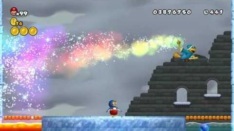 Newer Super Mario Bros Wii World 5-Chillsear Castle
