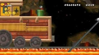 Newer Super Mario Bros Wii World 8-Underground Railroad