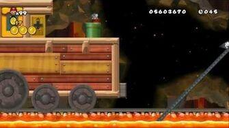 Newer Super Mario Bros Wii World 8-Underground Railroad