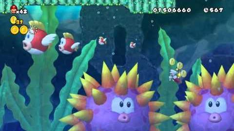 Cheepcheep Creek Newer Super Mario Bros Wiki Fandom