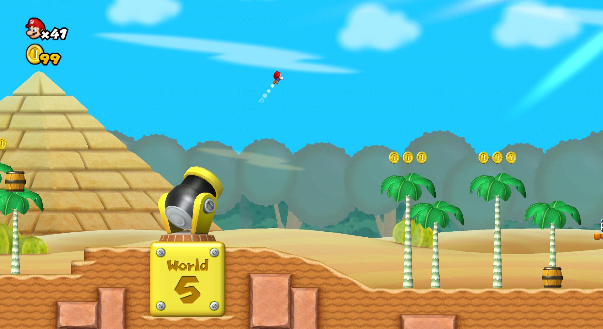 World 2 Cannon Another Super Mario Bros Wii Newer Super Mario