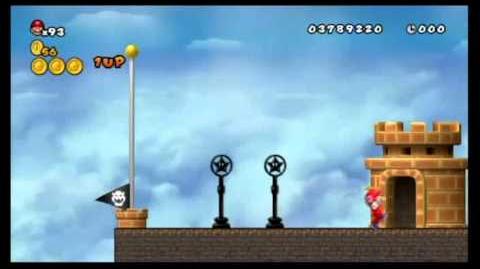 Newer Super Mario Bros. Wii 100%- World C - Sky City